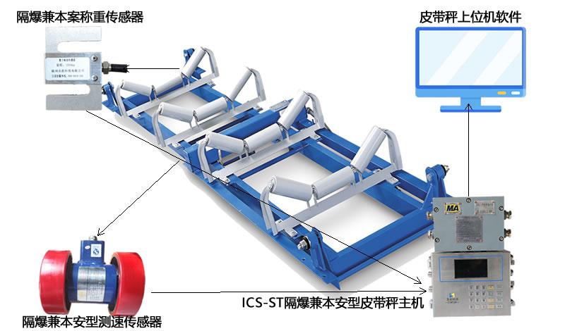 ICS-14A通用型電子皮帶秤