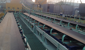 青島特殊鋼鐵有限公司電子皮帶秤案例