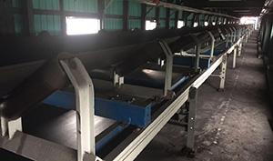 山東榮信煤化有限責任公司陣列式皮帶秤案例